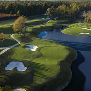 Williamsburg National GC - Yorktown: Aerial view