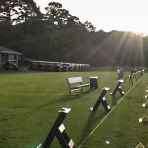 The Pines GC at Fort Eustis: Driving range