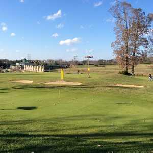 Virginia Golf Center: Practice area