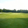 A view of the 10th green at Brambleton Regional Park Golf Course