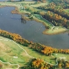Aerial view from Gauntlet Golf Club