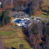 Aerial view of the clubhouse and swimming pool (courtesy of Aquia Harbor Golf & Country Club)