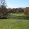 A fall view from the 4th tee at Timbers at Troy