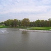 A view of hole #18 at Patuxent Greens Country Club