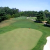 A view of green #3 at Falls Road Golf Course