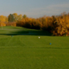 A fall view from tee at Windy Hill Golf Course
