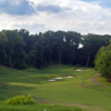 View of the par-4 8th hole from the Blue course at Army Navy Country Club - Arlington