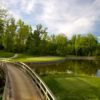 A view over a bridge at Chevy Chase Club