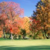 A fall view of a hole at Hidden Creek Country Club