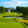 A view from a tee at Championship Course from Trump National Golf Club - Washington D.C.