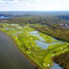 Aerial view from Championship Course at Trump National Golf Club - Washington D.C.