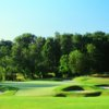 A view of the 15th green at Waverly Woods Golf Course