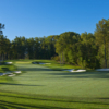 A view of the 1st fairway at Caves Valley Golf Club