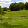 A spring view from tee #12 at Piney Branch Country Club