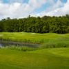 A view from a tee at Greenbrier Country Club
