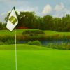 A view from a green at Greenbrier Country Club