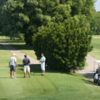A view of a tee at Old Landing Golf Course