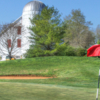 A view from a green at River Downs Golf Club