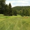 A view of a green at Cascades Golf Course from The Homestead Resort