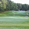 A view of green #11 at Kinderton Country Club