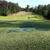 A sunny day view of a fairway at Kinderton Country Club