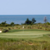 A view of green #4 at Nicklaus Course from Bay Creek Resort & Club