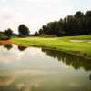 A view of a green at Hermitage Country Club