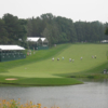 The finishing hole at The Blue course at Congressional Country Club in Bethesday, Maryland (Courtesy of Carl Lindberg)