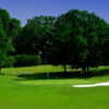 A view of green #13 at Chesapeake Hills Golf Club
