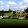 A view of the clubhouse at Talbot Country Club