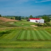 A view from tee #6 at The Olde Farm Golf Club