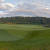 View from the par-4, 440 yards opening hole at Bayside Resort Golf Club