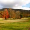 A fall day view from Lonesome Pine Country Club