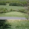 A view of a hole at Needle's Eye Golf Club