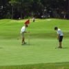 A view of a green at The First Tee of Hampton Roads