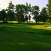View of a green from West at Andrews AFB Golf Course