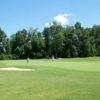 A view of a fairway at Williamsburg National Golf Club