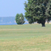 A view of a fairway at Cedar Point Golf Club.