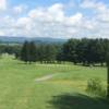 A sunny day view of a green at Cedar Hill Country Club.