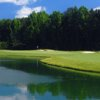 A view of green #14 at Indian Creek Country Club.