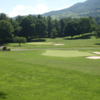 A view of two well protected greens at Tazewell County Country Club.