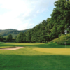 A view of a hole at Tazewell County Country Club.