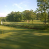 A view of a hole at Medal of Honor Golf Course.