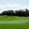 A view of a green at Pendleton Golf Club.