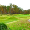 A splendid fall day view of a hole at Pendleton Golf Club.