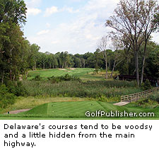 Delaware's courses