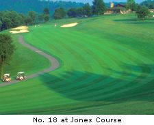 No. 18 at Jones Course