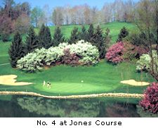 No. 4 at Jones Course