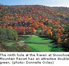 The Raven Course at Snowshoe