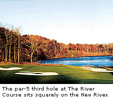 No.3 at The River Course